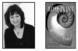 author photo and book cover