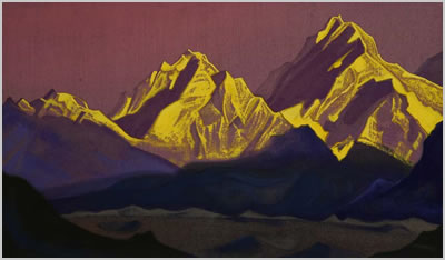 Himalayan View by Nicholas Roerich