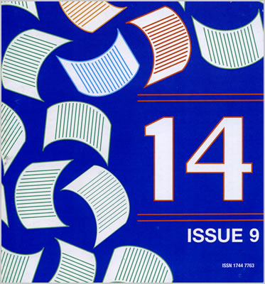 Issue 9 front cover