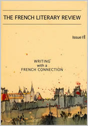 The French Literary Review, issue 10 - front cover