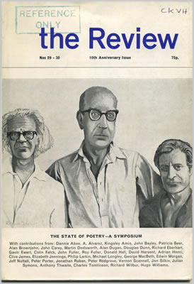 The Review front cover